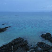 みゆきビーチからの眺望です。