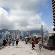此処からの景色はまさに香港です