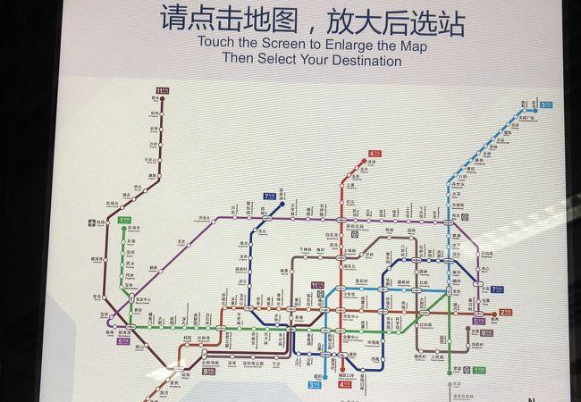 福田口岸駅
