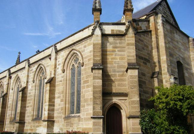 かわいらしい感じの教会