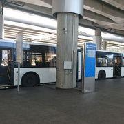 空港バスはモスコフスカヤ駅からのアクセス
