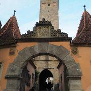 旧市街西側の門 ブルク門