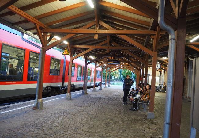 ローテンブルクの鉄道駅