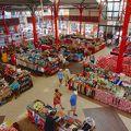タヒチ島 マルシェ (公共市場)