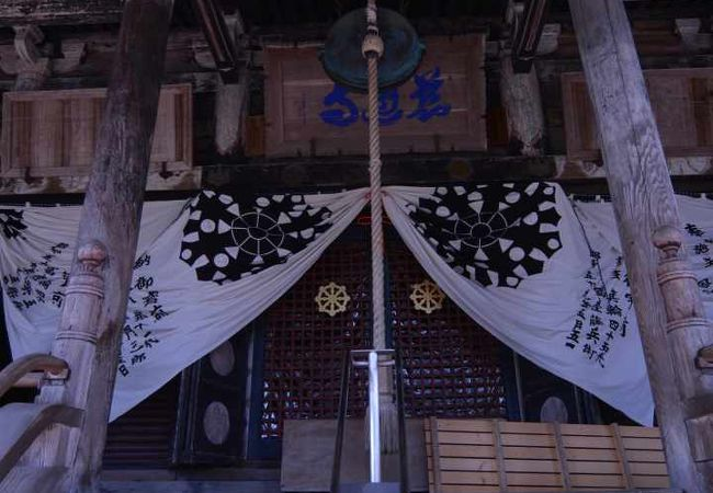 すごい山寺でした。