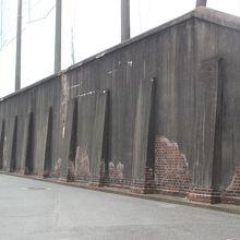 旧三池集治監外塀