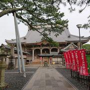 日蓮上人誕生の地に立つお寺
