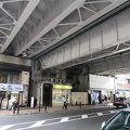 写真:佐久間河岸 高架橋