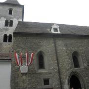 ウィーン最古の素朴で小さな教会