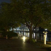 天王洲アイル第二水辺広場からの景色