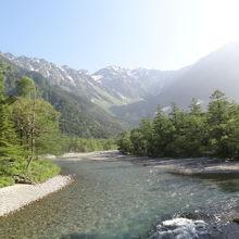 美しい川です。