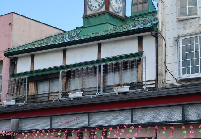 弘前の西洋建築(1)一戸時計店 ♪
