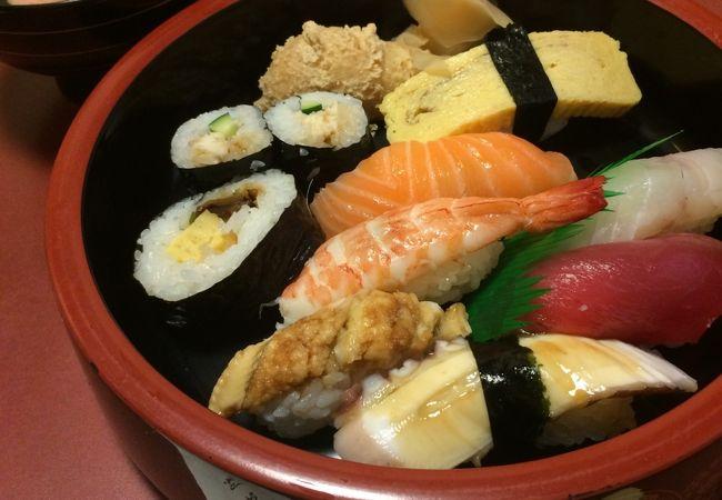 夜店前に大喜でお寿司