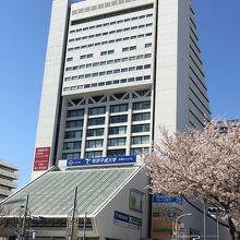 中野駅JR北口からの外観と距離感