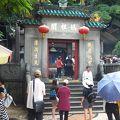 マカオの名前の由来になった中国式寺院