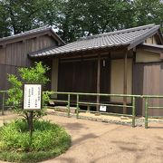 松下村塾のイミテーションがありました