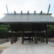 初代神武天皇をお祀りした神社