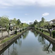 倉敷美観地区を流れています