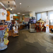 観光会館の内部