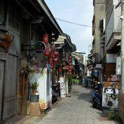 台南の古い路地を観光地化