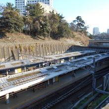 四ツ谷駅JRホーム
