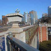 JR四ツ谷駅に架かる橋