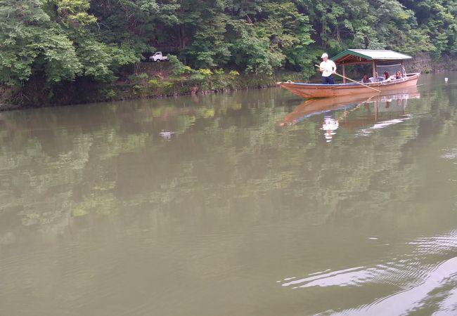 嵐山遊覧船