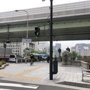 堂島川にかかってます