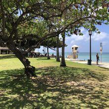 カピオラニビーチパーク