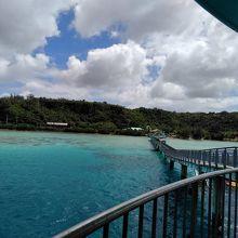 海中展望塔からの眺め