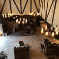 癒される山岳ロッジ風のホテル