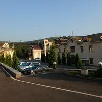ホテル周辺。日本の会員制リゾートの雰囲気。