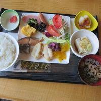 和食中心の朝食です