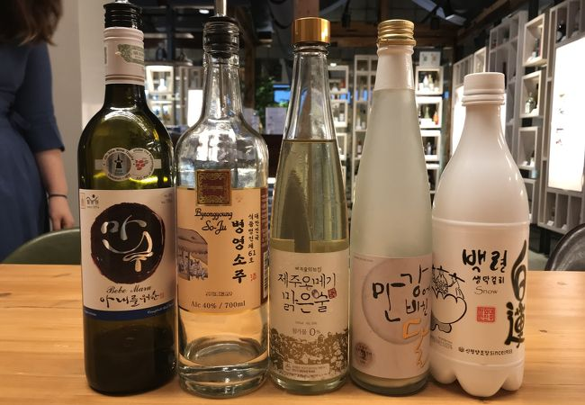 伝統酒ギャラリー