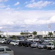 想像より小さな空港でした。