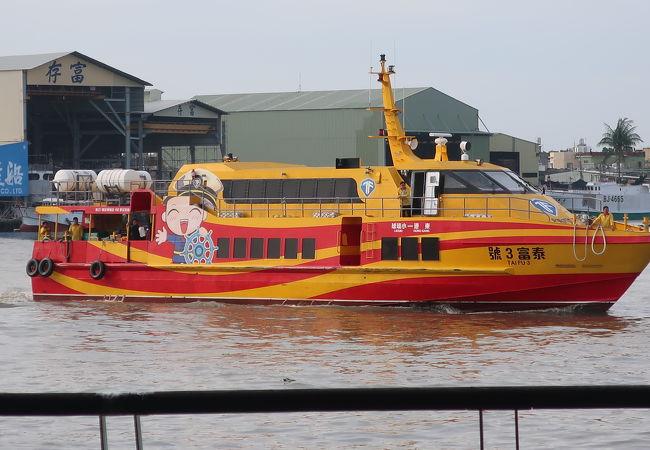 小琉球への船乗り場