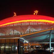 大型で新しい空港