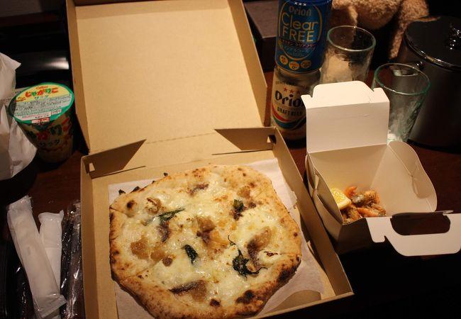 沖縄県瀬長島:テイクアウトで豪華な夜食