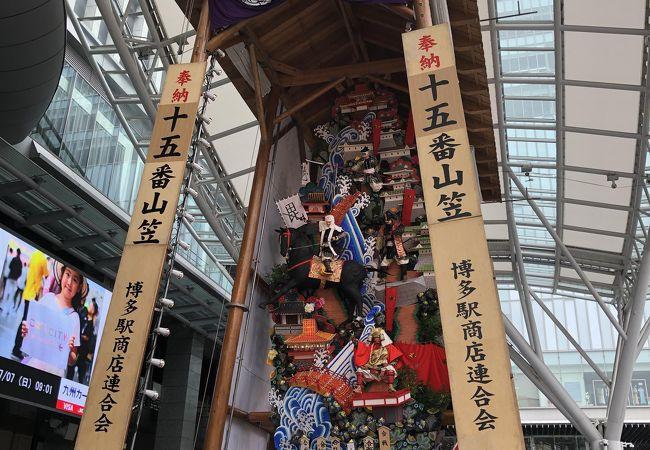 博多祇園山笠 舁き山 飾り山 山小屋見物