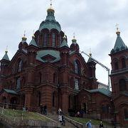 岩山の上に建てた教会~ウペンスキー寺院