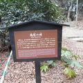 写真:浜離宮恩賜庭園 鴨塚の碑