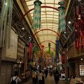昭和のレトロ感たっぷりの商店街