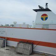 2016年就航の設備の充実したモノクラスのフェリー