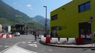 Bolzanoバスターミナル…場所が変わっていました。