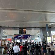 台鉄新烏日駅と繋がっています