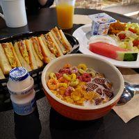 朝ご飯がおいしいです!