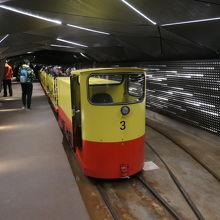 トロッコ列車です