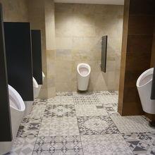 パラディウム地下の男子トイレ