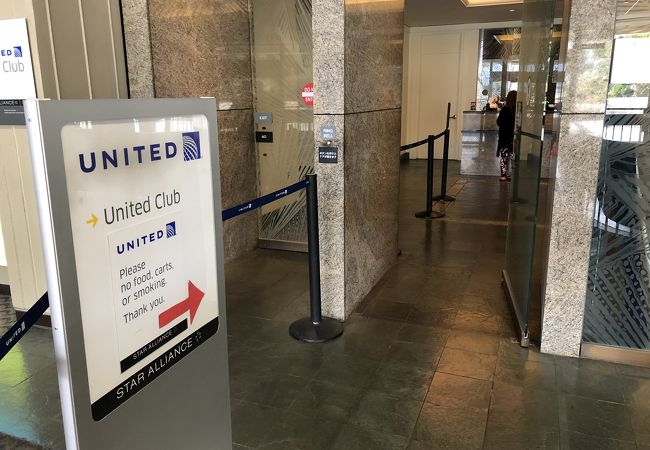 ホノルル国際空港 ユナイテッドクラブ
