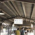 レトロな駅舎で、とても素敵